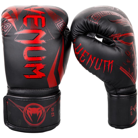Venum Gladiator 3.0 Boxing Gloves - Black/Red - 12 oz