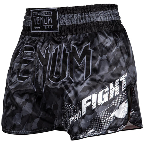 VENUM Tecmo Muay Thai Shorts - Dark Grey