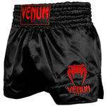 VENUM Muay Thai Shorts Classic - BLACK/RED
