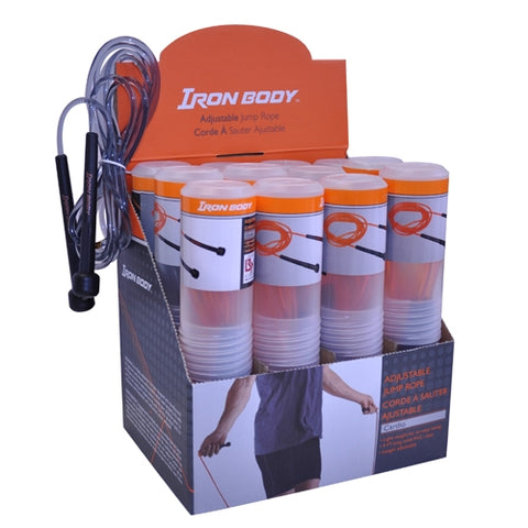 IBF Iron Body Skipping Rope