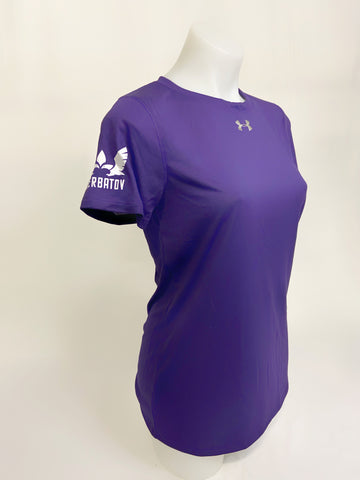 Under Armour Woman Locker T-shirt w/ Sherbatov Logo - Purple