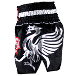 Twins Special Muay Thai Shorts - Black/Silver