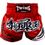 Twins Special Muay Thai Shorts - Red/Black