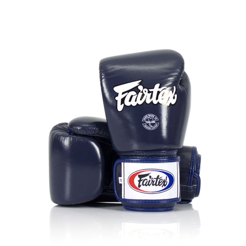 "Fairtex Universal Gloves ""Tight-Fit"" Design - Navy - 12 oz"