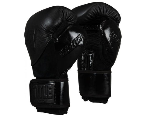 TITLE BLACK Blitz Sparring Gloves