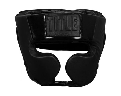 TITLE BLACK Training Headgear