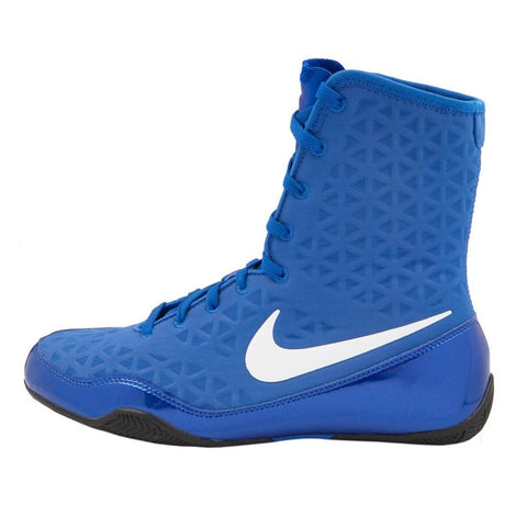 NIKE KO Boxing Shoes - Blue/White