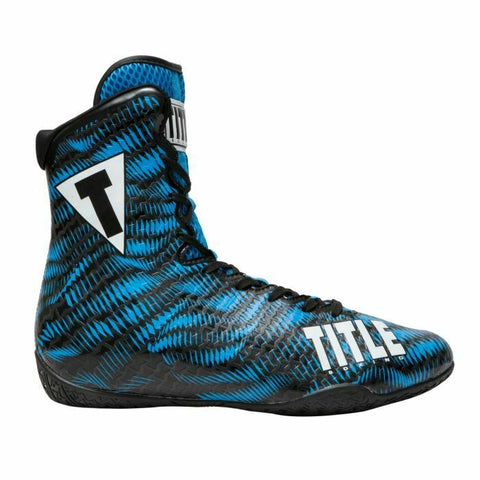 TITLE Predator Boxing Shoes - Black/Blue