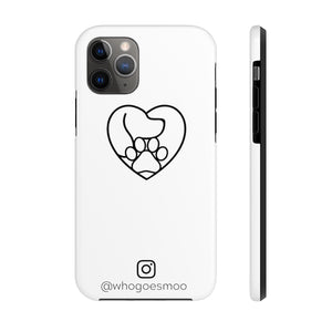 Premium whogoesmoo Official Phone Case