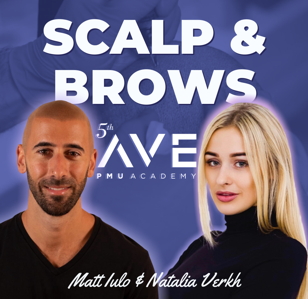 scalp micropigmentation and brows training course