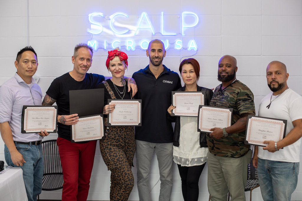 scalp micro pigmentation training online