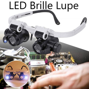 Hibote™ LED Brille Lupe