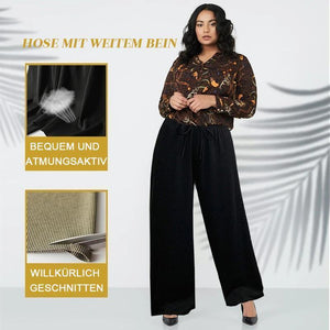 Hibote™ Ice Silk Wide Leg Damenhose