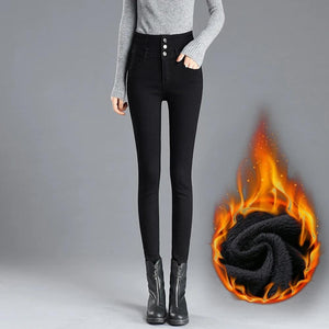 Hibote™ Thermal Fleece Denim Jeggings