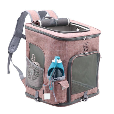 Breathable Pet Travel Carrier Backpack