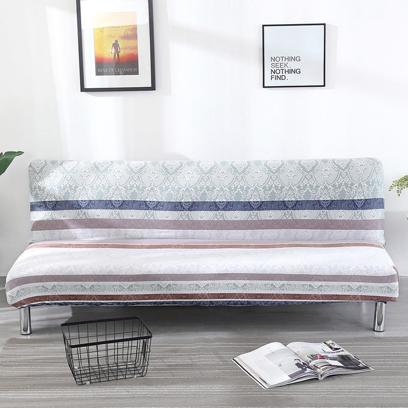 Universal Size Spandex Armless Sofa Bed Covers