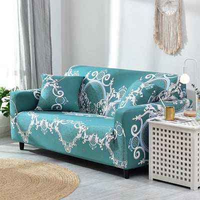 Black Color Sofa Cover Couch Cover Polyester Bench Covers Elastic Stretch Furniture Slipcovers For Christmas Home Decoration