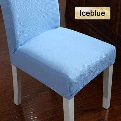 Jacquard Fabric Big Elastic Chair Cover