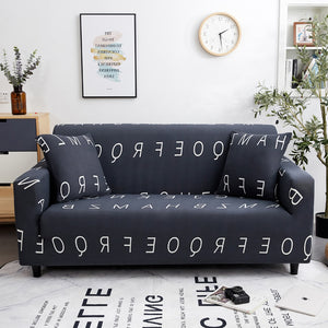 1/2/3/4 seat Polar fleece fabric sofa Cover