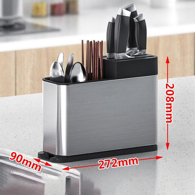 Knife rack organizer