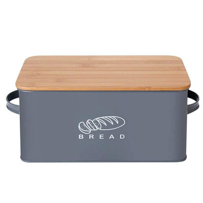 Storage Boxes Bread Bins With Bamboo Cutting Board