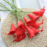 10 Pieces / Lot PU Artificial Flowers