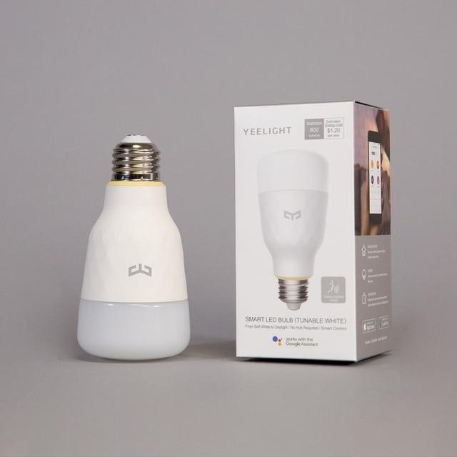 Smart LED bulb work with Xiaomi Smart Home App