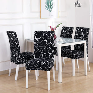 4/5/6 Pieces One Group Chair Cover