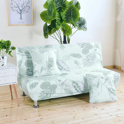 Elastic Sofa Bed Cover Without Armrest