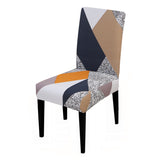 Chair Cover Big Elastic Printed Stretch Seat Chair Covers Painting Slipcovers Restaurant Banquet Home Party Decoration