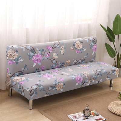 160-190cm Armless Elastic Sofa Bed Cover Folding Seat Slipcover Stretch Covers Cheap Couch Protector For Home Party