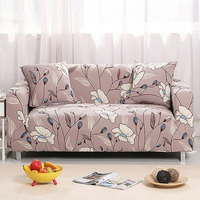 Printing 1/2/3/4 Seat Sofa Cover All-inclusive Elastic Washable Removable
