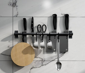 Wall Mounted Kitchen Storage Rack Dish Drainer Plate