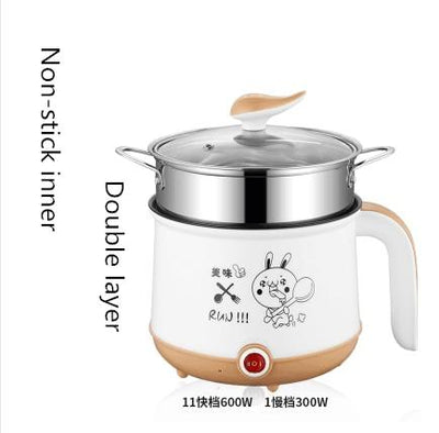 220V Mini Multifunction Single/Double Layer Hot Pot