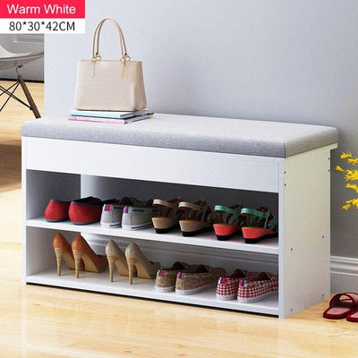 Nordic Creative Sofa  Double-layer Shoe Rack