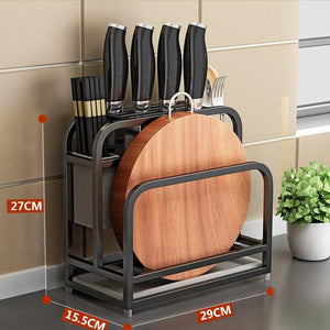 Knife Storage Rack Kitchen