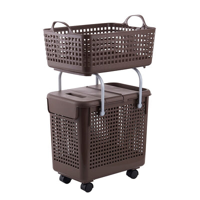 Multifunctional Bathroom Toilet Clothes Dirty Clothes Storage Basket