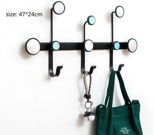 Nordic Wall Hanger Hook Modern Storage Shelf  Coat