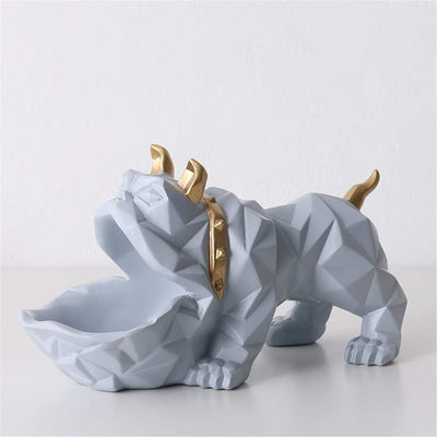 Office Decoration Creatives Bulldogs Candy Box