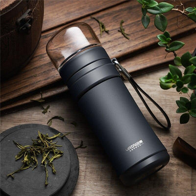 570ml Thermal Mug With Tea Insufer For Office