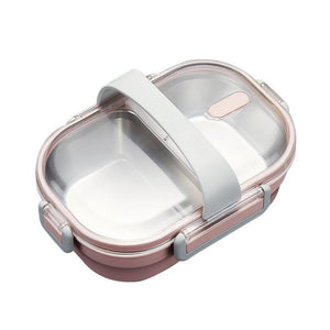 Japanese Portable Lunch Box Containers With Compartments