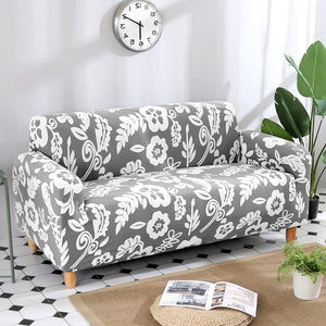 Printing Slipcovers Furniture Covers Tight Wrap All-inclusive Slip-resistant Sofa Covers for Living Room Sofa Christmas
