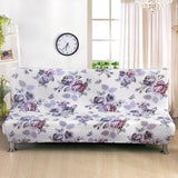 Length 160-190cm Folding Stretch Sofa Bed Cover Without Armrest