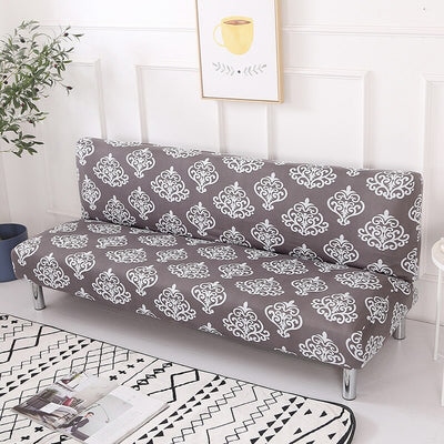 160-190cm Elastic Sofa Bed Tight Wrap Folding Slipcover  Without Armrest