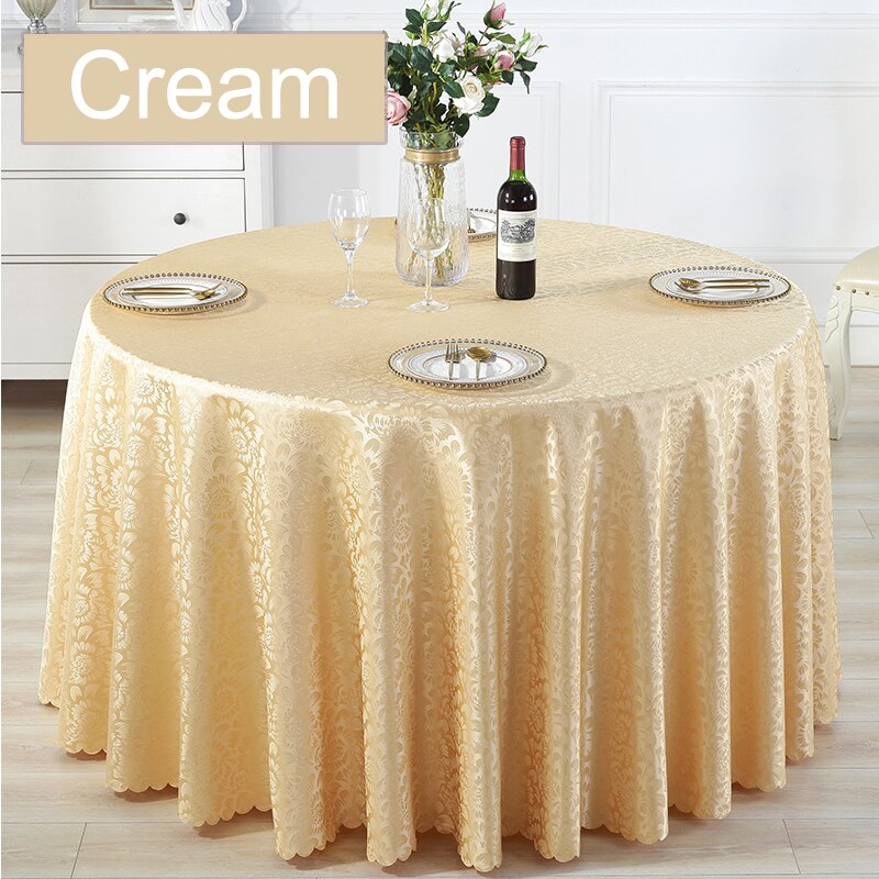 Red Banquet Wedding Rectangle And Square And Round Tablecloth