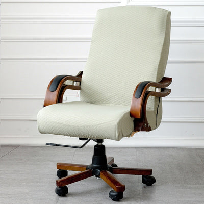 Soft Jacquard Office Chair Cover