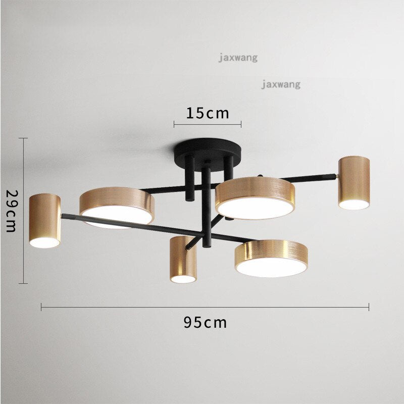 Restaurant Creative Modern LED Ceiling Lamp