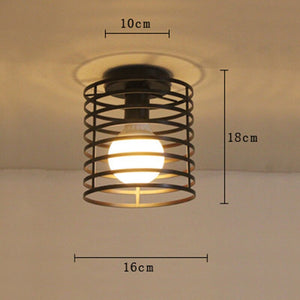 Country Ceiling Lamp