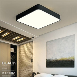 Modern Nordic LED Ceiling Lights With Remote Control