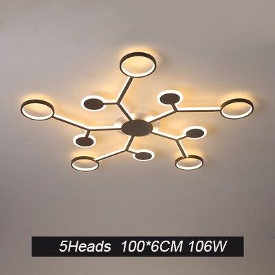 Remote ceiling chandelier lighting